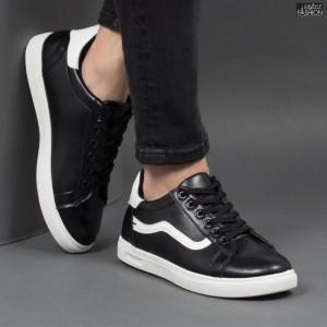 Pantofi Sport ''WE Fashion B333 Black White'' [S10E2]