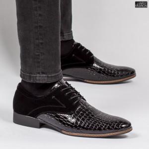 Pantofi ''Z68 Fashion BY7355 Black'' [S18E5]