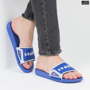 "Papuci ""Aierda 89 Royal Blue White''"