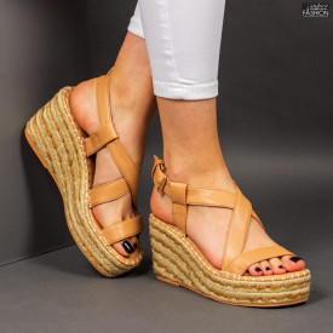 Sandale ''Bestelle Fashion JA002 Camel'' [D9D2]