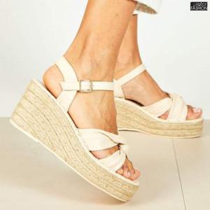 Sandale ''Bestelle Fashion JA004 Beige'' [D18E2]