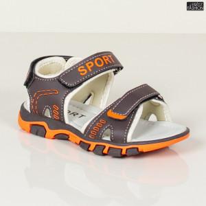 Sandale Copii ''L&X D916 D. Brown'' [D17B2]