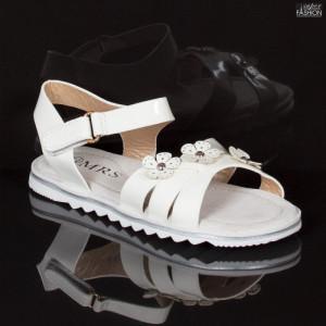 Sandale Copii ''MRS R106 White'' [D3E7]