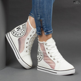 Sneakers ''WE Fashion 100 White'' [D17A7]