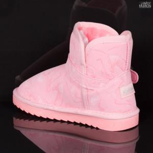 Cizme Copii ''Apawwa N224 Pink'' [D6C5]