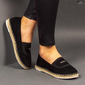 Espadrile ''Feet Fashion F-27 Black''