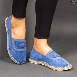 Espadrile ''Feet Fashion F-27 Blue'' [D4D3]