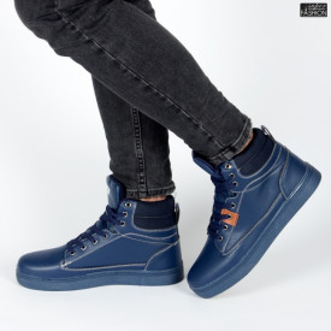 "Ghete Sport ""D.L. Fashion 1268 Navy"" [S14C1]"