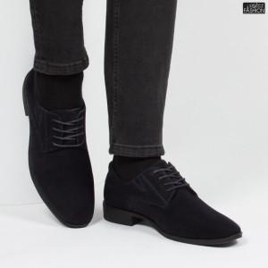 pantofi barbati cu piele ecologica intoarsa