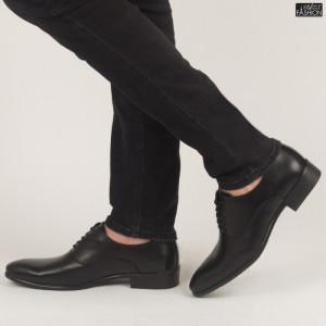 Pantofi ''OUGE RO-008 Black'' [S23E7]