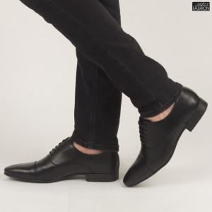 Pantofi ''OUGE RO-010 Black'' [S7F2]