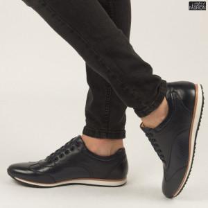 Pantofi ''Renda 34-1D Blue''