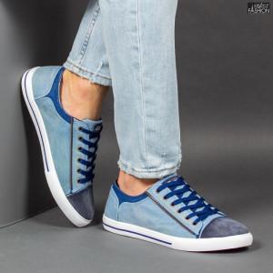 Pantofi Sport ''23DEC. M9027-12 Blue Navy'' [S9E5]