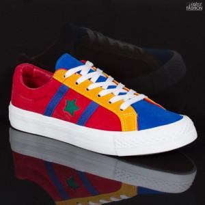 Pantofi sport ''ABC H2203 Red Yelow'' [D19B12]