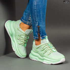 Pantofi Sport ''ABC W6615 Green''