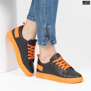 Pantofi Sport ''ALD Fashion HQ-113 Black'' [D20E6]