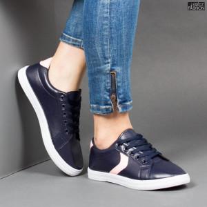Pantofi Sport ''ALD Fashion HQ-119 Navy Pink'' [D15C2]