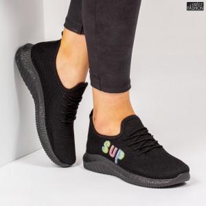 Pantofi Sport ''ALD Fashion HQ-4-26 Black'' [D10E2]
