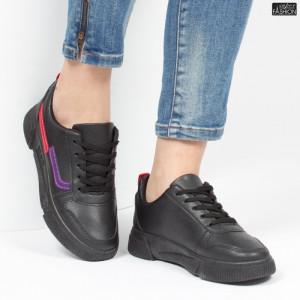 Pantofi Sport ''ALD Fashion HQ-79 Black'' [D1E3]