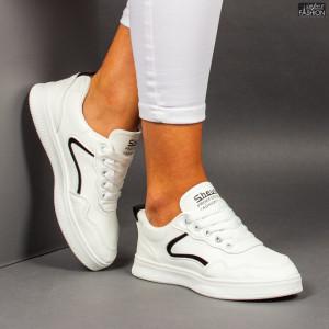 """Pantofi Sport """"ALL Fashion 201 White Black"""""""