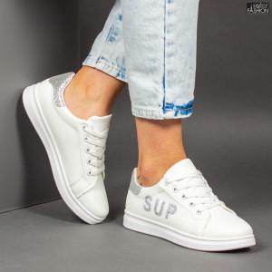 Pantofi Sport ''ALL Fashion A23 White''