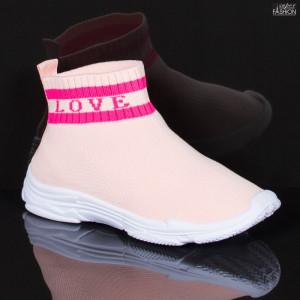 Pantofi Sport Copii ''Meek YF-102 Pink'' [D18C4]
