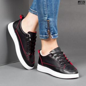 Pantofi Sport ''DON Fashion TS512 Black '' [D7D7]