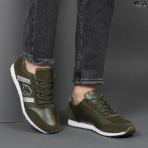 Pantofi Sport ''Fashion A-1808 Green'' [S8E6]