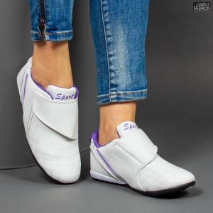 Pantofi Sport ''NCD Fashion 9088 White Purple'' [D15B10]