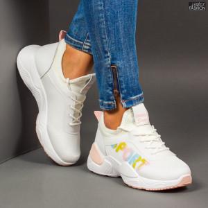 Pantofi Sport ''Se7.en 23-36 White''