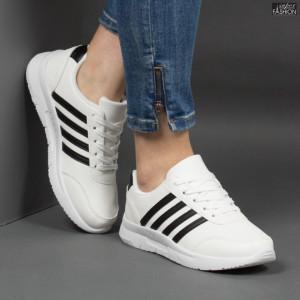Pantofi Sport ''Veer Fashion A1817-2 White'' [D20D2]