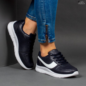 Pantofi Sport ''Veer Fashion A1818-3 Blue'' [D23E10]