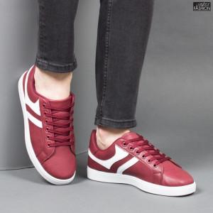 Pantofi Sport ''Veer Fashion B2811-4 Wine Red'' [S12E1]
