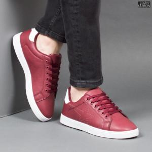 Pantofi Sport ''Veer Fashion B2813-4 Wine Red'' [S7B1]