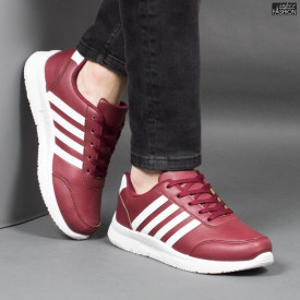 Pantofi Sport ''Veer Fashion B2817-4 Wine Red'' [S17D1]