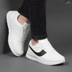 Pantofi Sport ''Veer Fashion B2818-2 White'' [S12E10]