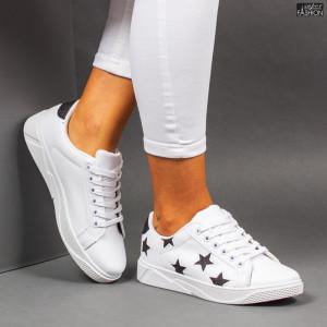 Pantofi Sport ''Veer Fashion F1821-1 White Black''