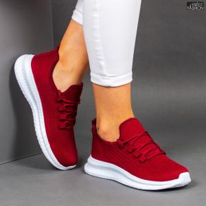 Pantofi Sport ''WE Fashion 3302 Wine '' [D7C4]