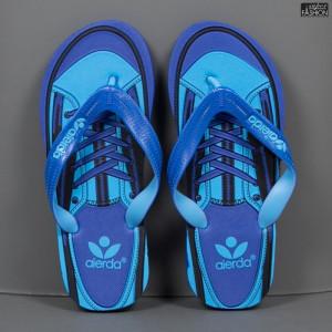 """Papuci """"Aierda 66A Blue''"""