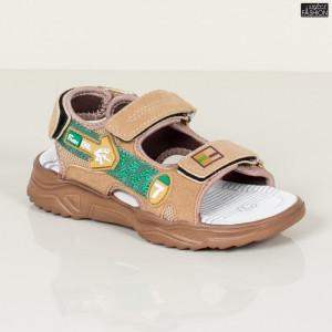 Sandale Copii ''DION Q16 Khaki'' [S11C10]