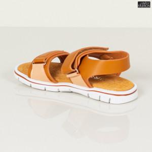 sandale fete maro