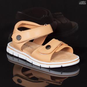 Sandale Copii ''MRS 138 Beige'' [S23D3]