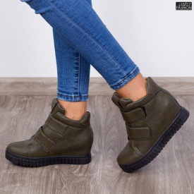 Sneakers ''ABC 1261-A Army Green'' [D7B11]