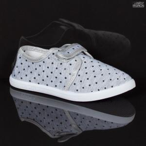 Espadrile Copii ''WE Fashion 663-1 Grey'' [LB11]
