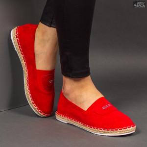 Espadrile ''Feet Fashion F-27 Red'' [D4D5]