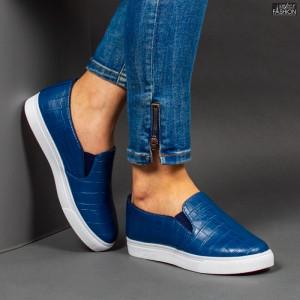 Espadrile ''WE Fashion C-11 Blue'' [D14A1]