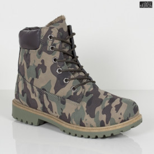 Ghete ''GGM 1809 Green Camouflage''