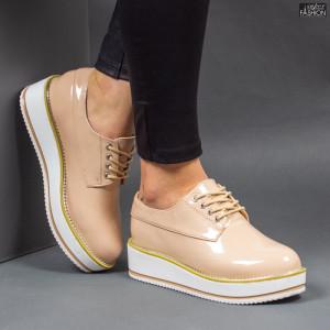 Pantofi ''Feet Fashion V16 Apricot'' [D15E4]