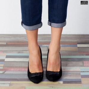 Pantofi ''Mei WT-67A Black'' [D1F9]