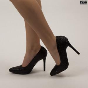 Pantofi ''Mei XKK0601 Black'' [D1F7]